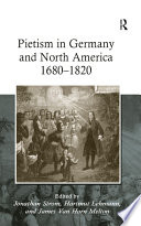 Pietism in Germany and North America 1680   1820