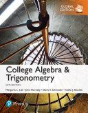 College Algebra and Trigonometry  Global Edition