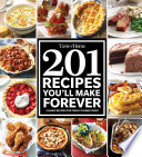 Taste Of Home 201 Recipes You Ll Make Forever