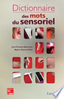 Dictionnaire des mots du sensoriel
