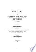 History of Neosho and Wilson Counties  Kansas