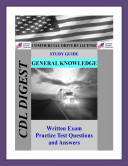 CDL Practice Test Study Guide  General Knowledge