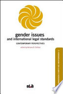 Gender Issues and International Legal Standards  Contemporary Perspectives