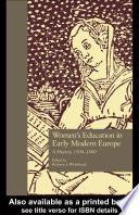 Women s Education in Early Modern Europe