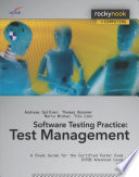Software Testing Practice  Test Management