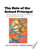 The Role Of The School Principal
