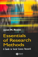 Essentials of Research Methods
