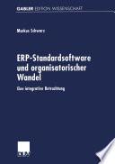 ERP-Standardsoftware und organisatorischer Wandel