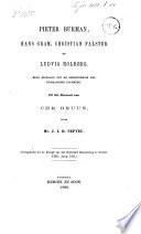 Pieter Burman, Hans Gram, Christian Falster en Ludvig Holberg