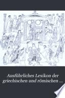 Ausf  hrliches Lexikon der griechischen und r  mischen Mythologie  Bd   1  Abt  Iache Kyzikos  1890 1894