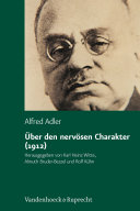 Über den nervösen Charakter (1912)