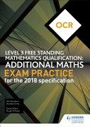 OCR Additional Mathematics Exam Practice (2nd Edition)