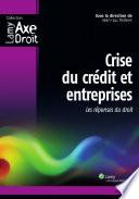 Crise du crédit et entreprises