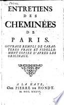 Entretiens des cheminées de Paris