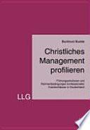 Christliches Management profilieren