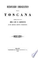 Dizionario corografico della Toscana