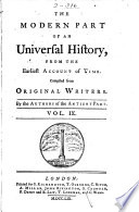 Ebook An Universal History, from the Earliest Account of Time Epub N.A Apps Read Mobile