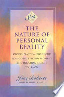 illustration du livre The Nature of Personal Reality