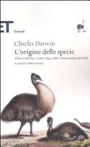 L origine delle specie  Abbozzo del 1842  Lettere 1844 1858  Comunicazione del 1858