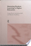 Assessing Student Learning In Higher Education book