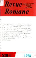 Revue romane