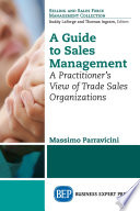 A Guide to Sales Management