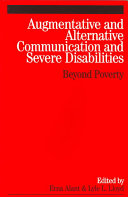 Augmentative and Alternative Communication and Severe Disabilities
