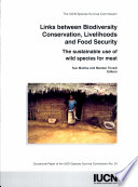 Links Between Biodiversity Conservation  Livelihoods and Food Security