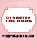 Diabetes Diary Book