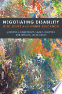Negotiating Disability