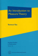 An Introduction to Measure Theory
