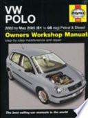 VW Polo Petrol   Diesel Service   Repair Manual