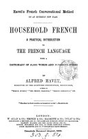 Book Household French ...
