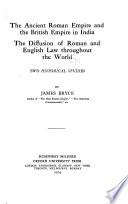 The Ancient Roman Empire and the British Empire in India