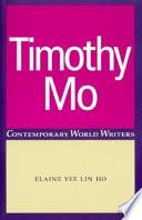 Timothy Mo