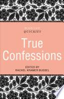 Black Lace Quickies  True Confessions