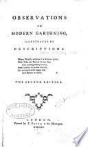 Observations on Modern Gardening