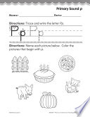 Kindergarten Foundational Phonics Skills  Primary Sound p