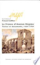 La France d ancien r  gime