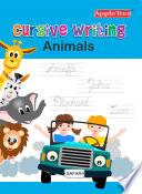 Cursive Writing Animals