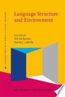 Language Structure and Environment