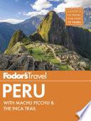 Fodor s Peru