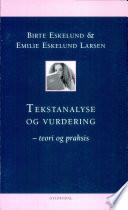 Tekstanalyse Og Vurdering