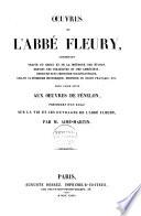 Oeuvres de l'abbé Fleury