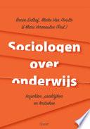 Sociologen over onderwijs