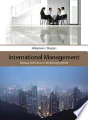 International Management  Strategy and Culture in the Emerging World