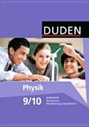 Duden Physik 9./10. Schuljahr. Arbeitsheft Gymnasium Mecklenburg-Vorpommern