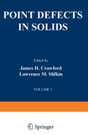 Book Point Defects in Solids