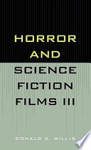 Horror and Science Fiction Films III