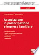 Associazione in partecipazione e impresa familiare